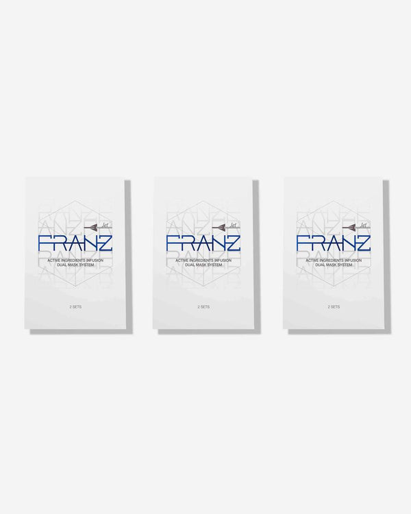 Franz MICROCURRENT DUAL FACE MASK (BUY 2 GET 1 Promotion, Total 6 Sets)