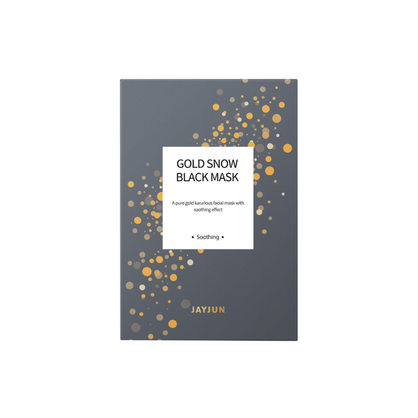 JAYJUN GOLD SNOW BLACK SHEET MASK
