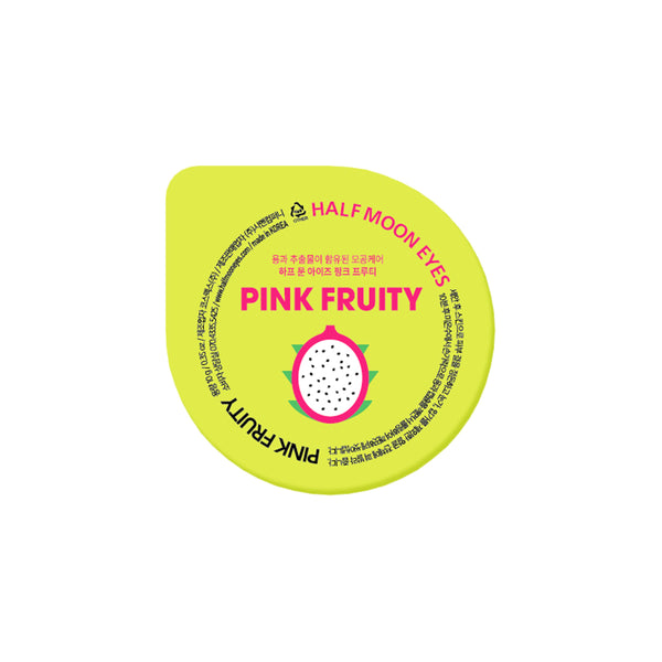 Half Moon Eyes Pink Fruity Mask