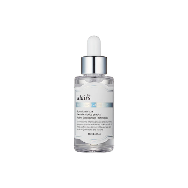 DEAR KLAIRS Freshly Juiced Vitamin Drop & Midnight Blue Youth Activating Drop (WORTH £48.40)