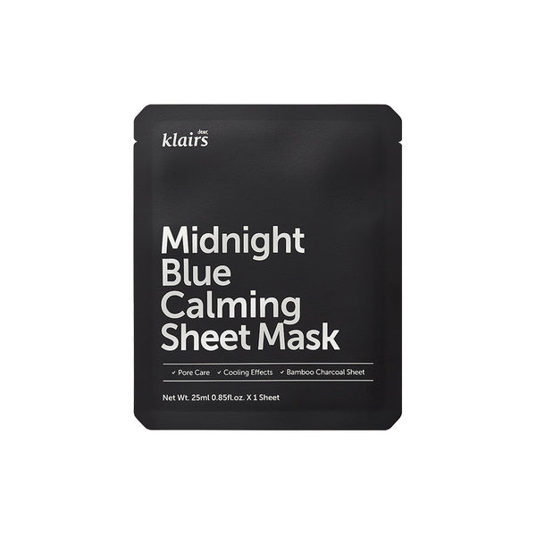 Dear Klairs Midnight Blue Calming Sheet Mask 1EA