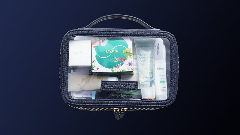 SUITCASE Magazine x TONIC15 Travel Kit