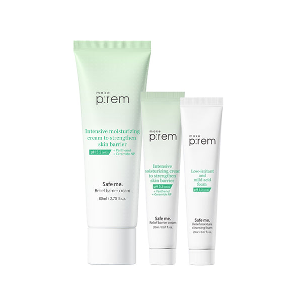 MAKE P:REM Safe Me Relief Barrier Cream 80ml