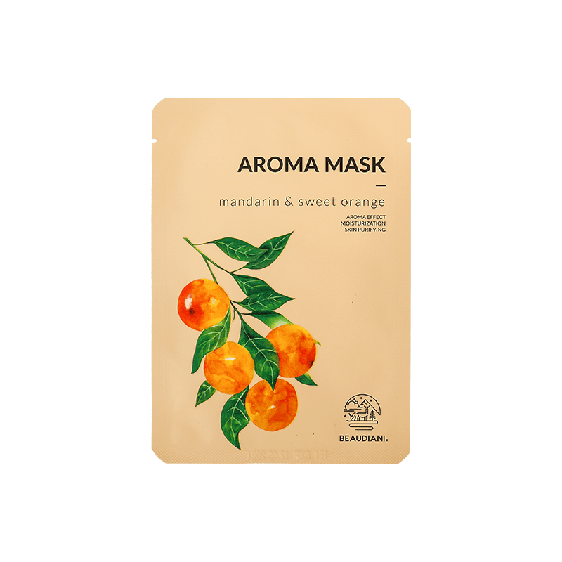 Beaudiani Aroma Mask Mandarin & Sweet Orange 1EA