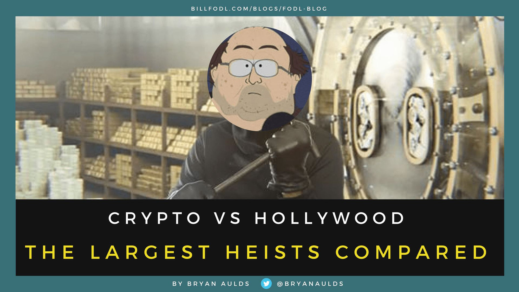 Crypto VS Hollywood | Which Heists Took Home the Most Money?