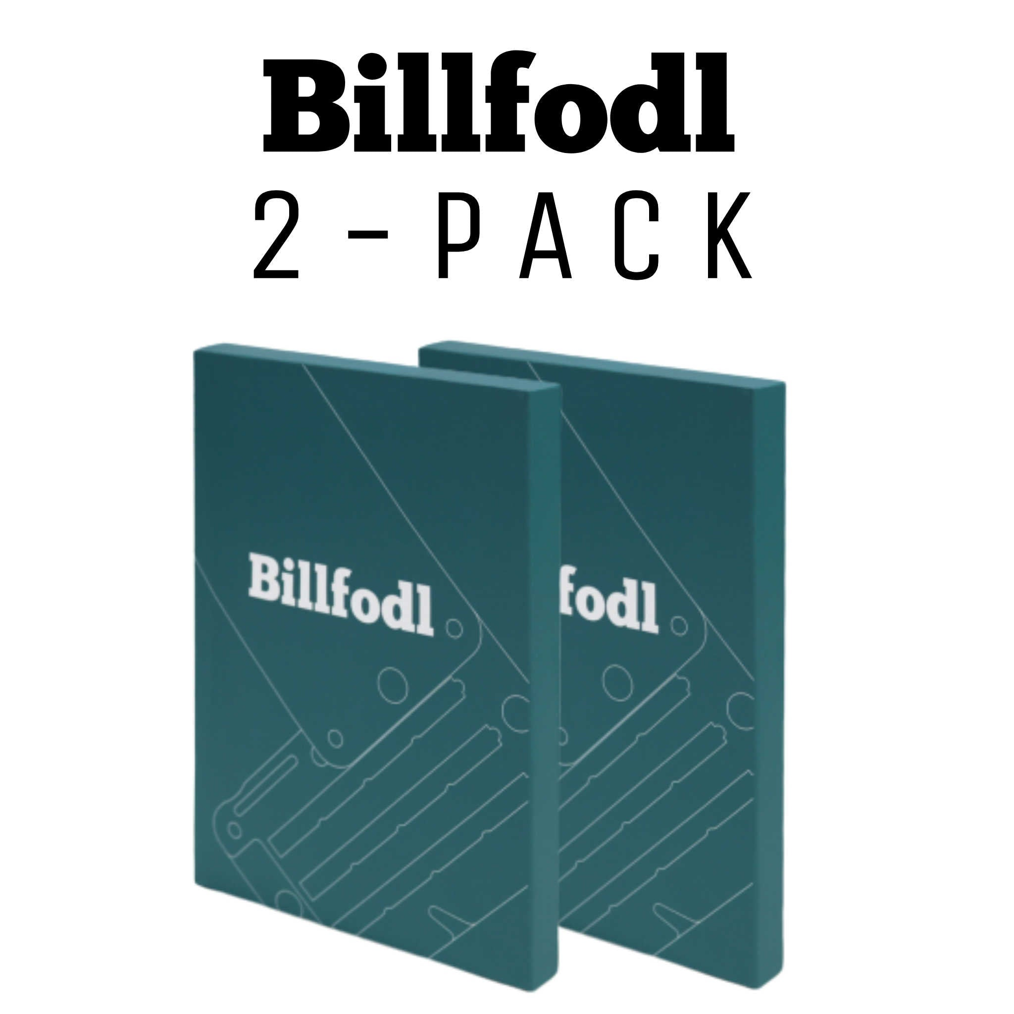 Billfodl 2-Pack Bundle