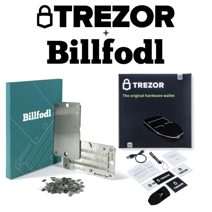 Trezor One + Billfodl