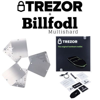 Trezor One + Multishard