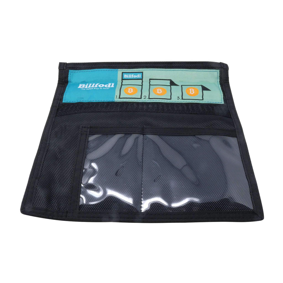 Large Faraday Bag with Window for Wallets, Phones, Tablets, and Backups