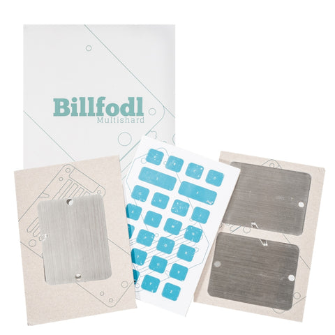 Billfodl Multishard