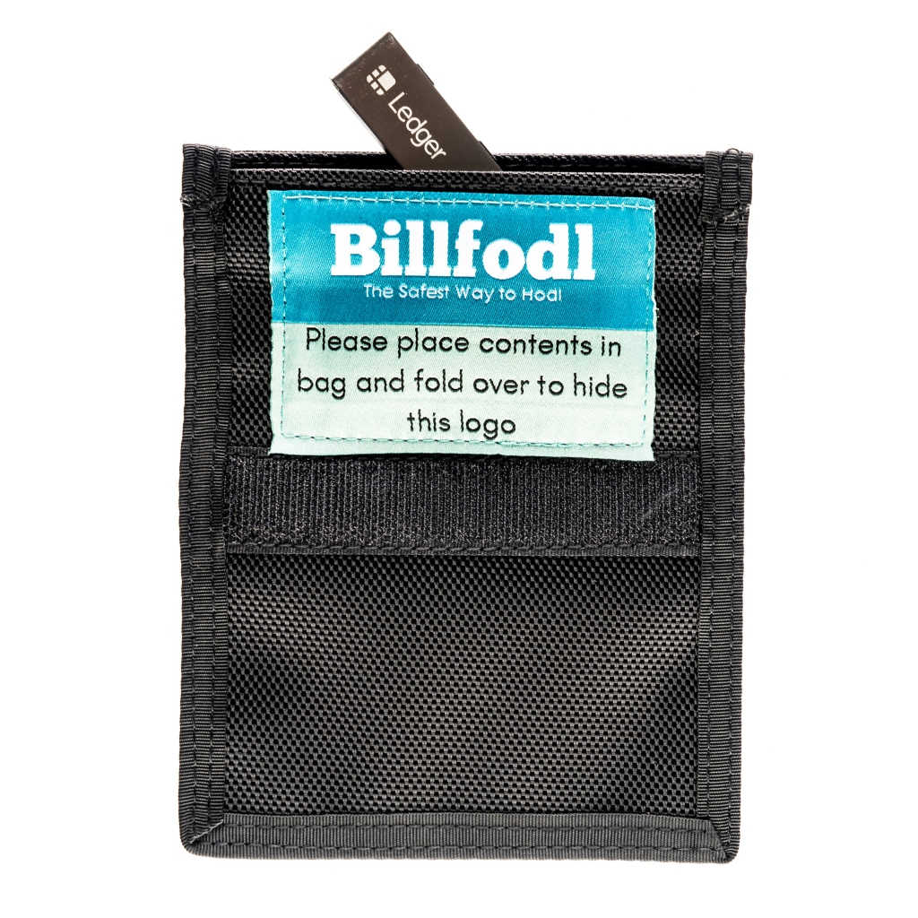 Faraday Bag For Key Fobs and Hardware Wallets