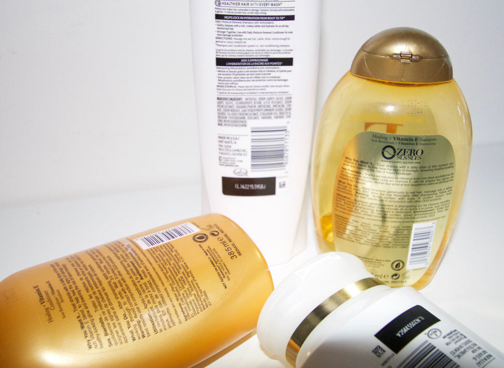 Harmful ingredients in hair products