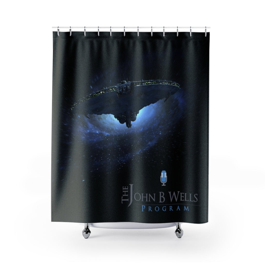 John B Shower Curtains