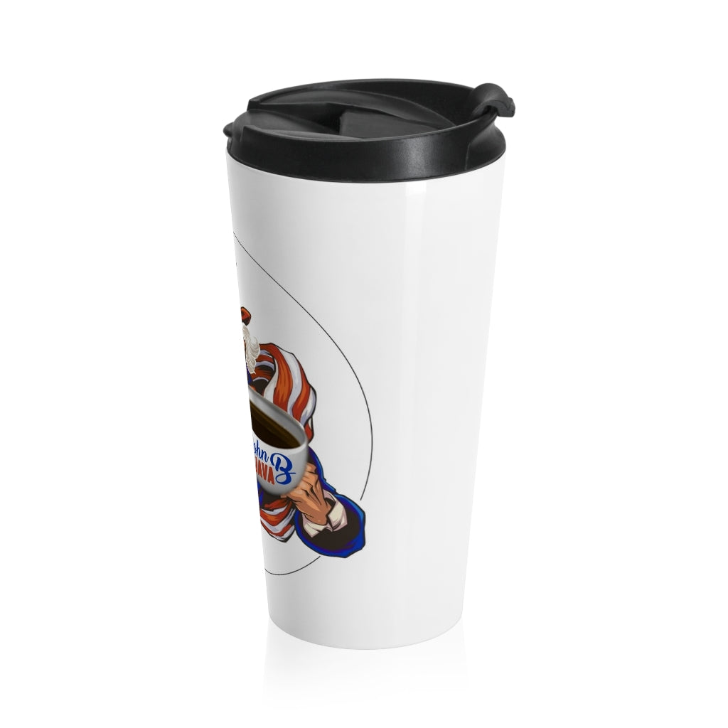 John B Java Stainless Steel Travel Mug