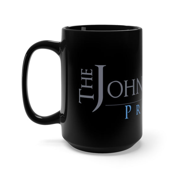 John B Wells Black Mug 15oz