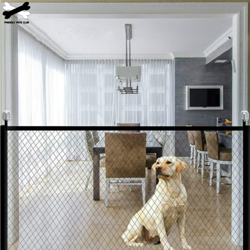 Portable Folding Mesh Magic Gate Fence