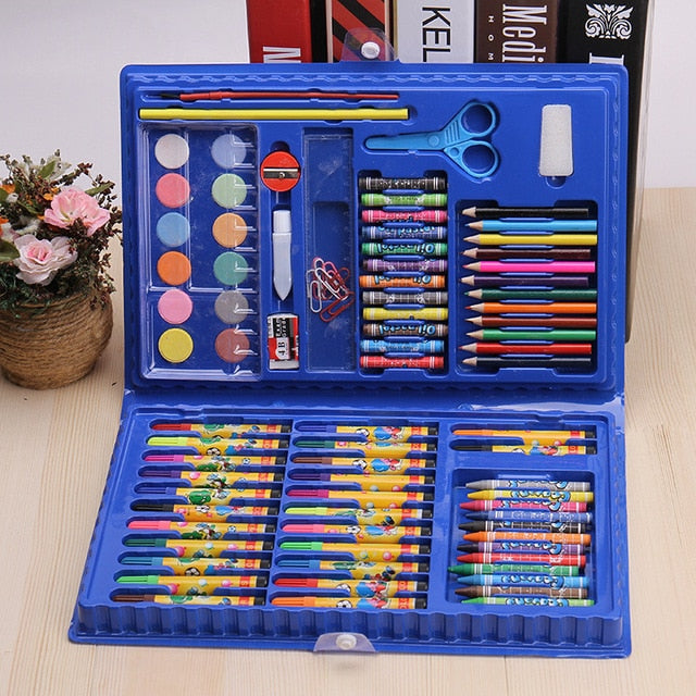 86Pcs/Set Kids Educational Painting Set
