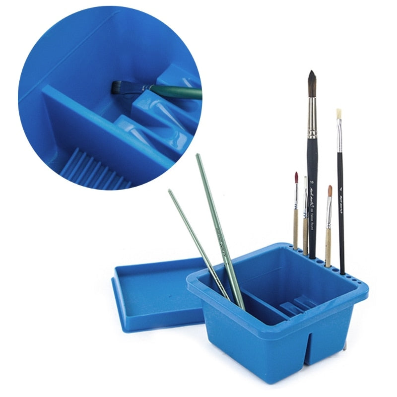 Art Supplies Brush Washing Bucket