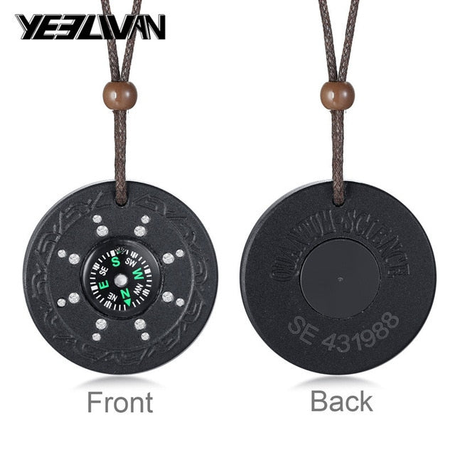 Anti EMF Radiation Protection Pendant Quantum Pendant Negative Ions Energy Pendant Necklace