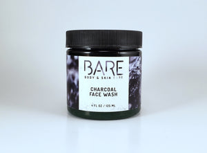 Activated Charcoal Face Cleanser with Caffeine