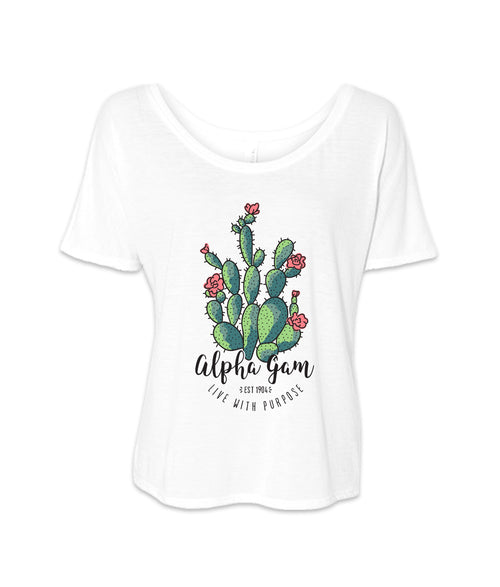 LAST CHANCE | 154262 | Alpha Gamma Delta Cactus Live With Purpose