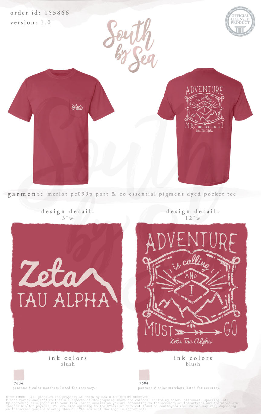 LAST CHANCE | 153866 | Zeta Tau Alpha Adventure