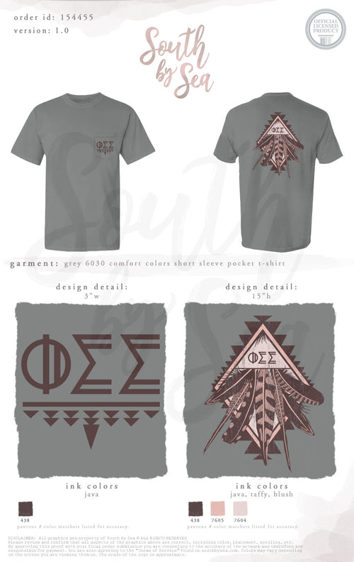 LAST CHANCE | 154455 | Phi Sigma Sigma Tribal Feather