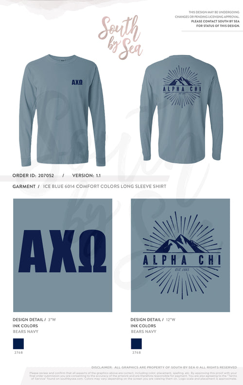 207052 | Alpha Chi Omega Mountain Campaign