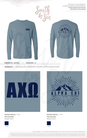 LAST CHANCE | 159103 | Alpha Chi Omega Bear Last Chance