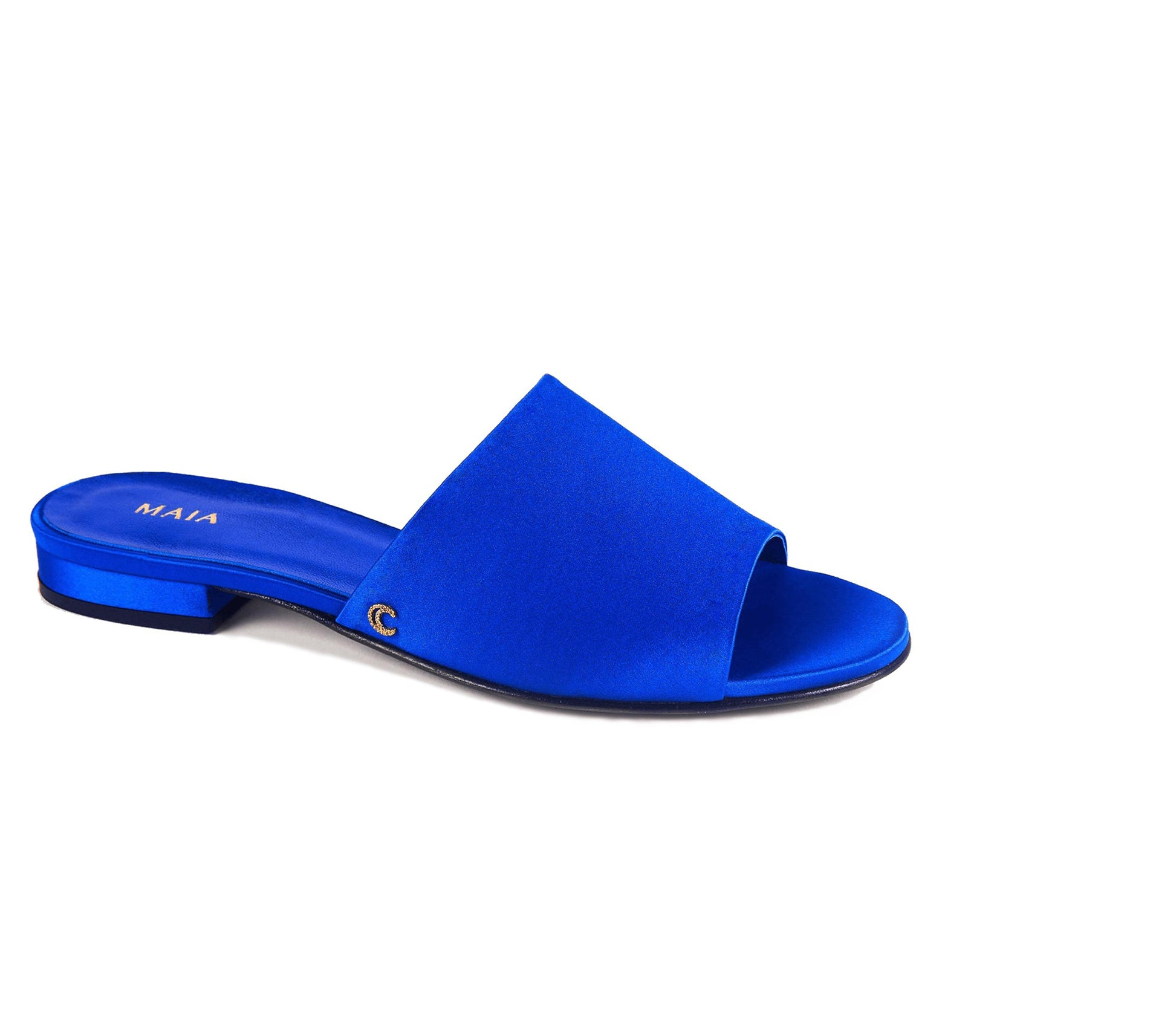 MAIA Silk Slide, Cobalt Blue