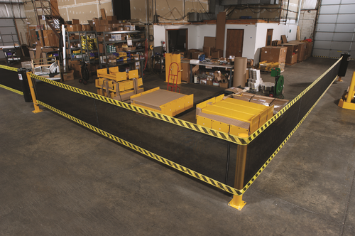 SpanGuard 9m Safety Barrier