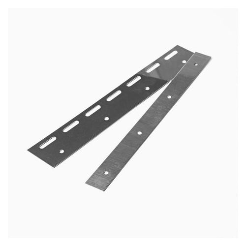 Stainless Steel PVC Hook Rail Hanging Plate | 300mm 2 pc