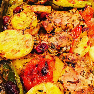 Turkish Baked Chicken with Vegetables
