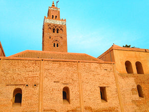 Minaret in Marrakesh, Morocco