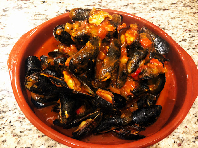 Moroccan Harissa Mussels