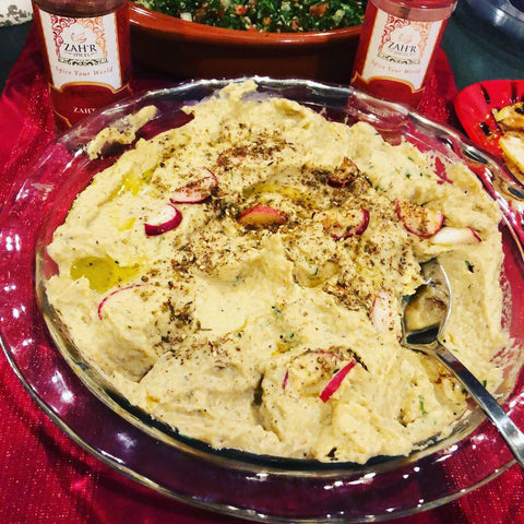 Babaganoush Eggplant Dip Recipe