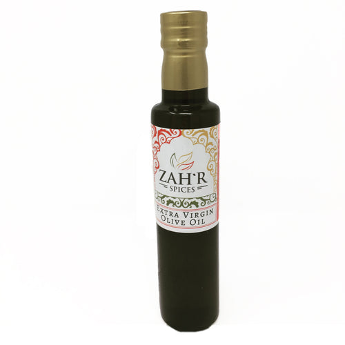 Zah'r Spices Olive Oil: Extra Virgin Olive Oil Imported from Italy - 250 mL