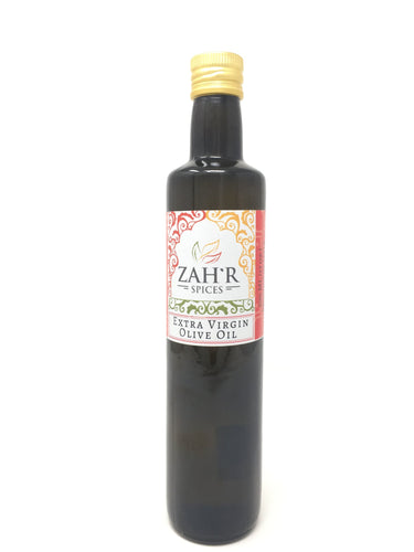 Zah'r Spices Olive Oil: Extra Virgin Olive Oil Imported from Italy - 500 mL