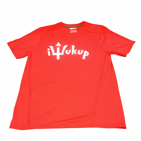 iWukup Logo Performance Crew Neck T-Shirt