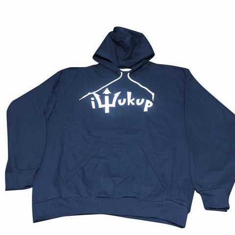 iWukup Logo Pullover Hooded Fleece