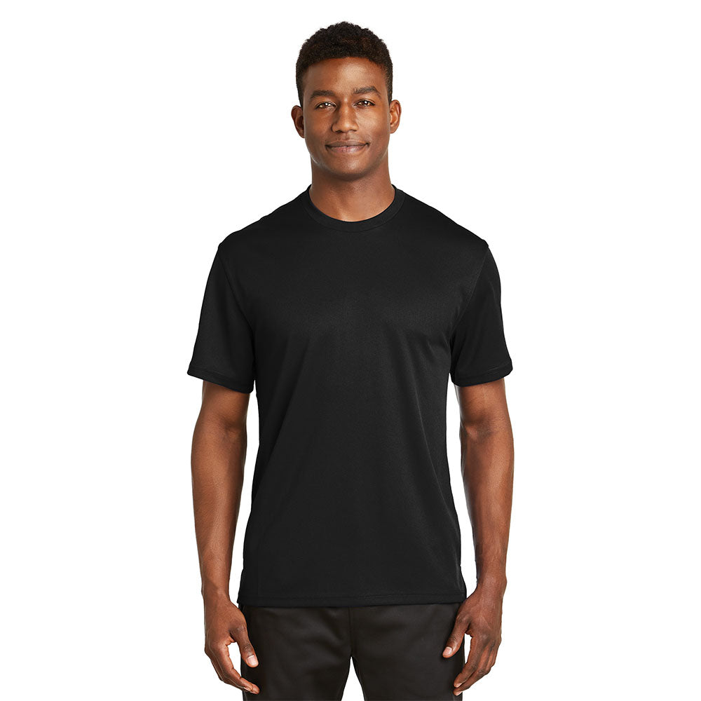 Dri-Mesh Short Sleeve Moisture Wicking T-Shirt With Protective Underarm Shields Style # K468 - kleinerts.com