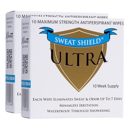 Sweat Shield Ultra Antiperspirant Wipes