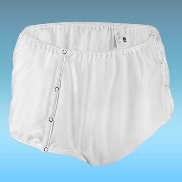 CareFor™ Snap-On Waterproof Incontinence Underwear – Heavy Absorbency