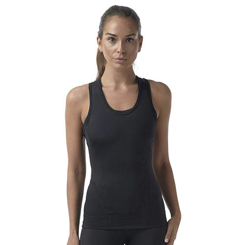 Racer Back Tank Top With Fabrapel® Treatment Style #WC6002 - kleinerts.com