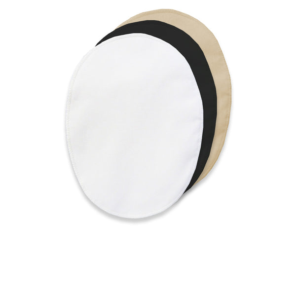 "Enlarged 100% Cotton Underarm Pads For Light - Moderate Sweating Style # 775F Measures 6"" x 7 1/2"""