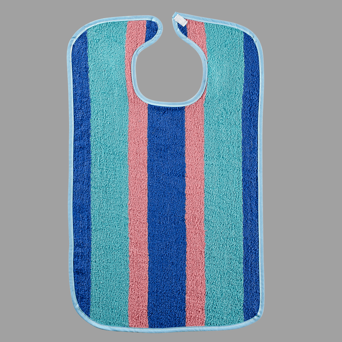 Multi-Striped Heavyweight Adult Bib