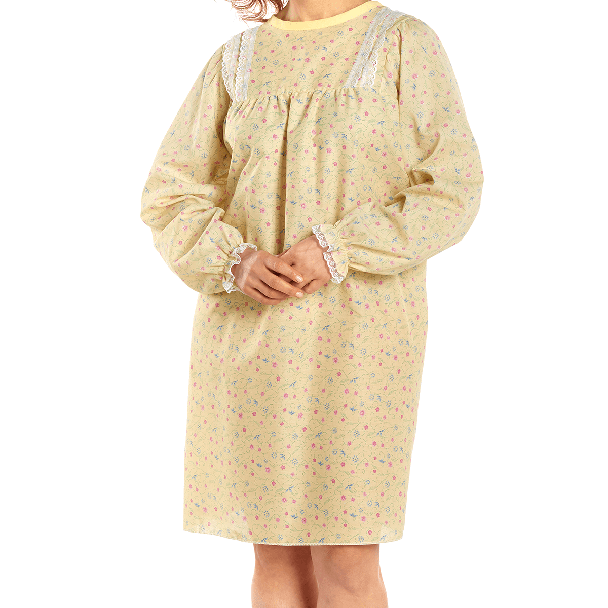 LadyLace™ Women's Long Sleeve Patient Gown