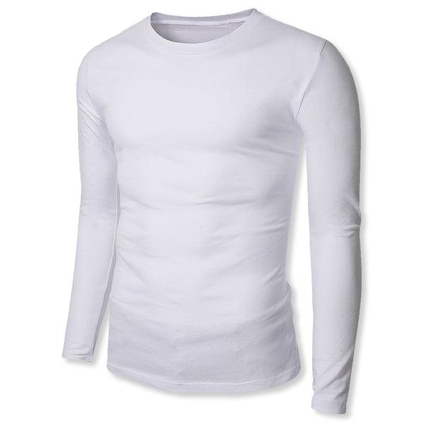 Long Sleeve Sweat-Resistant, Stain-Resistant & Odor-Resistant Undershirt (With or Without Medium Sized Sweat-Proof Underarm Shields) - kleinerts.com