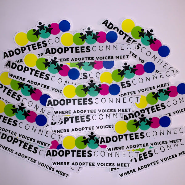 20 Adoptees Connect Bumper Stickers