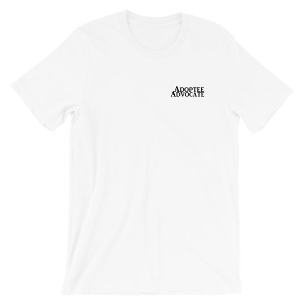 Adoptee Advocate Short-Sleeve Unisex T-Shirt